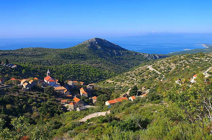 Île de Hvar, la star de l'Adriatique