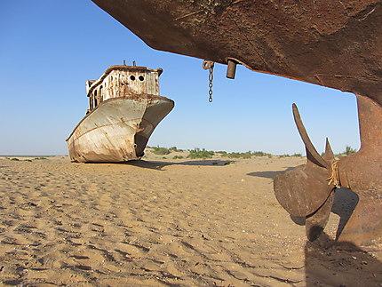 Bateaux orphelins de la mer