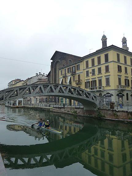 Kayak dans Milan
