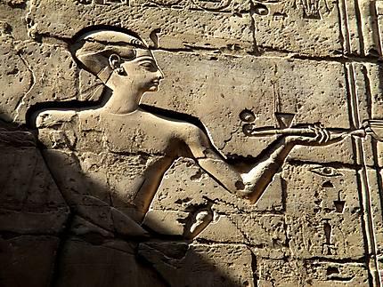 Bas-relief de Louxor, XVIII dynastie