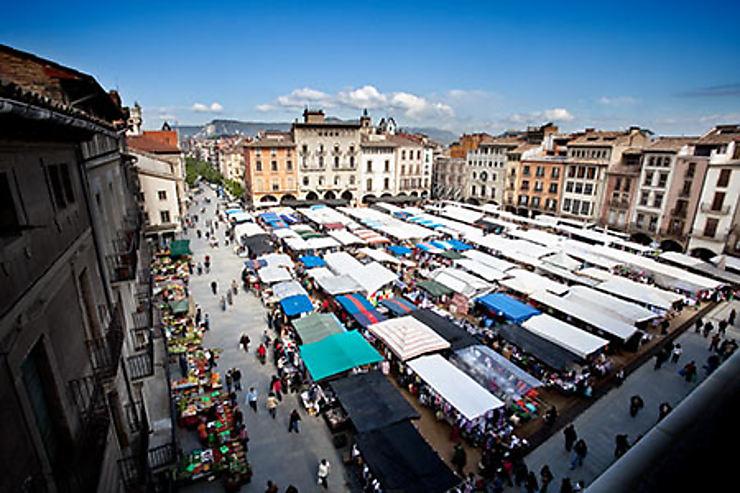 Vic, capitale de la Catalogne de l'intérieur