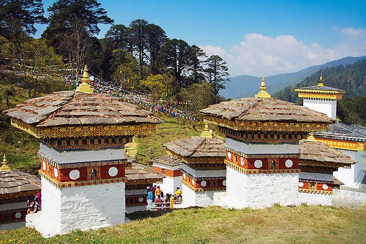 Le meilleur du Bhoutan : la route vers Punakha