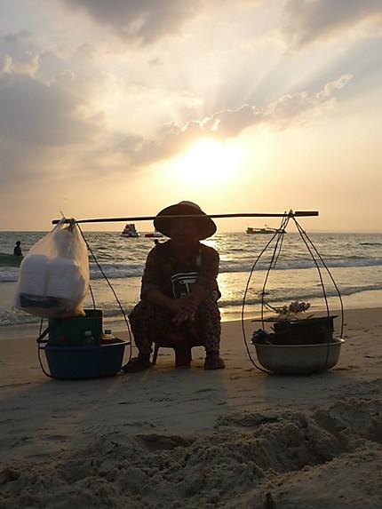 Break on the sunset