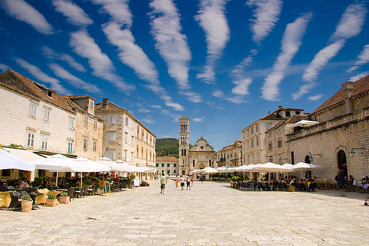 Hvar : l'une des plus belles villes de Croatie