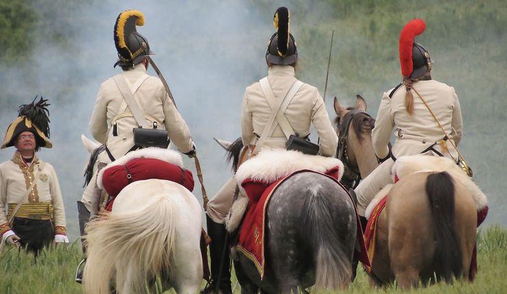 Reconstitution de la Bataille de Waterloo, Belgique