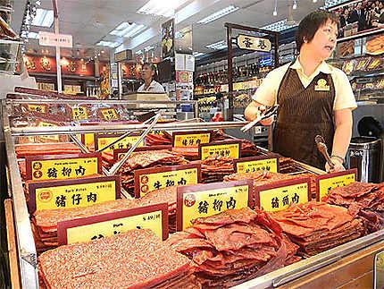 Centre de Macau - Viande séchée