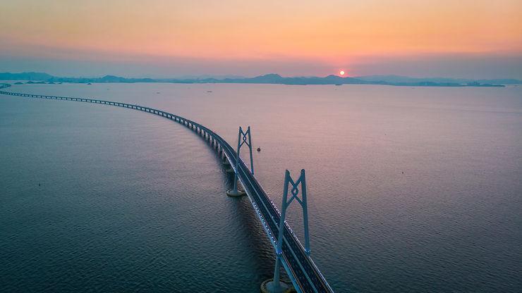 Chine - Hong Kong-Zhuhai-Macao : le plus long pont maritime au monde