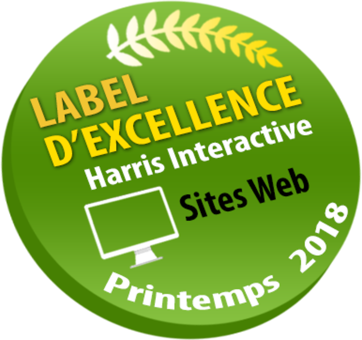 Palmarès - Routard.com obtient son 7e label d'excellence Harris Interactive