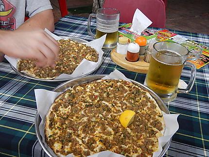 "Lahmadjune, la ""pizza arménienne"""