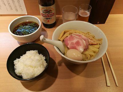 Tokusei Tsukemen à Tokyo