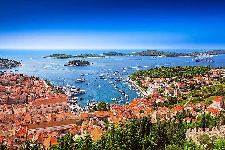 Hvar et les îles de Dalmatie (Croatie)