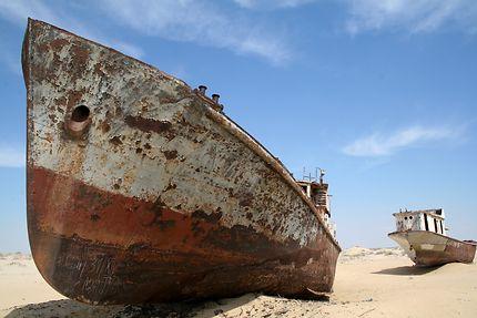 Epaves - Mer d'Aral