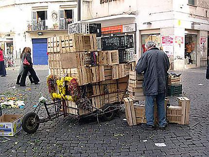 Marché de Campo dei Fiori - Le marché est fini