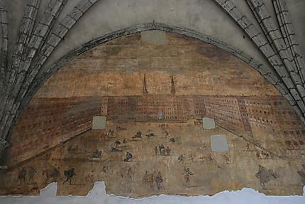 Peinture du Castel Nuovo