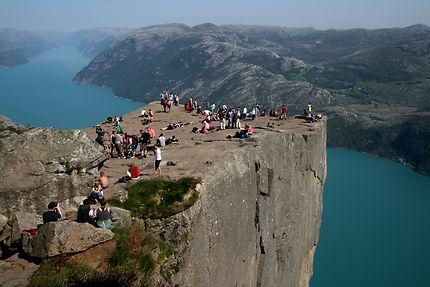 Preikestolen, 600 mètres au dessus du fjord