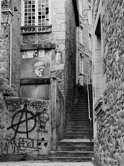 Street of Saint-Malo
