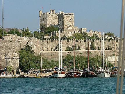 Bodrum - le port et le château