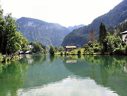 Lac Konigsee à Berchtesgaden