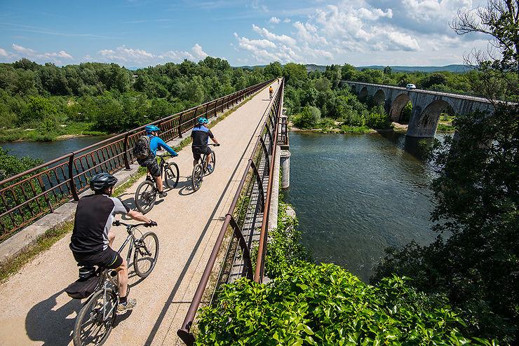 L'Ardèche à vélo
