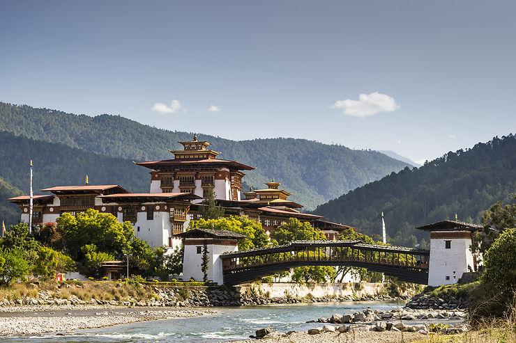 Punakha, capitale religieuse du Bhoutan