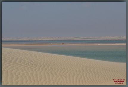 Fond de la baie de Dakhla