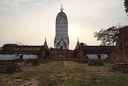 Ruines dans Ayutthaya