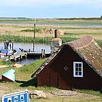 Cabane de pêcheurs à Nymindegab (Fjord Ringkobing)