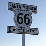 Route 66 ... End of trip!