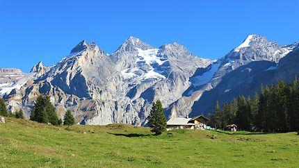 Montagnes vers Kandersteg