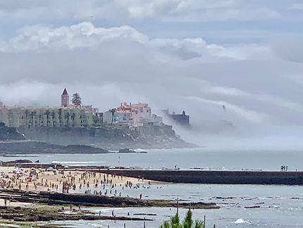 Brouillard de mer sur Estoril