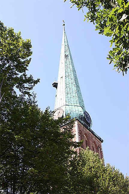 Clocher de l'Eglise Saint Jacques