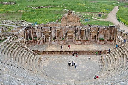 Jerash, Théâtre nord