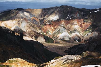 Les couleurs du Landmannalaugar