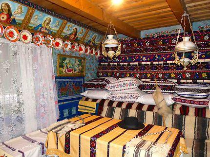 Intérieur d'une maison traditionnelle