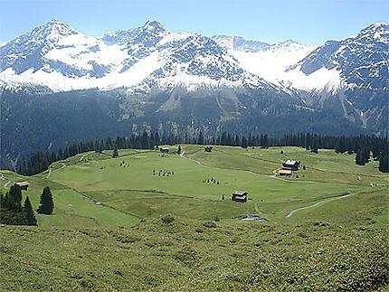 Arosa - Les Alpes