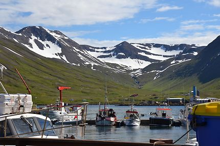 Le port de Siglufjörður