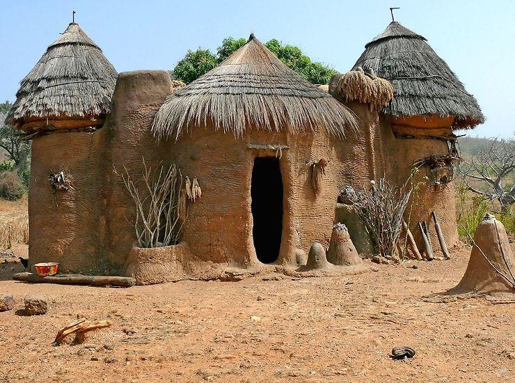 Les habitations de Tata Tamberma, Togo