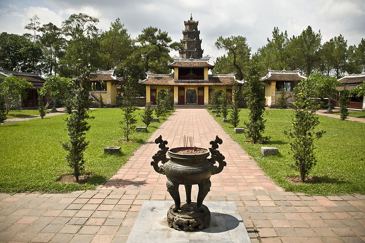 Le centre du Vietnam, autour de Hué l'impériale