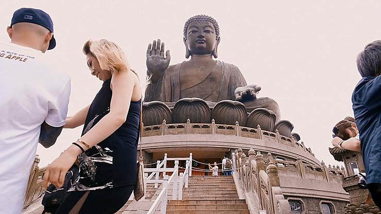 Vidéo - Balade visuelle dans les temples de Hong Kong