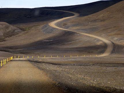 A travers les volcans islandais