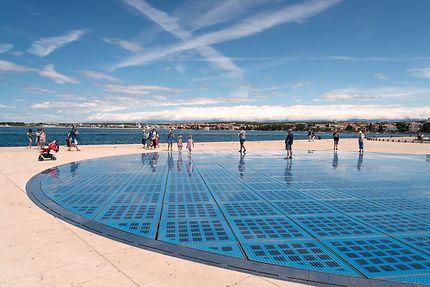 Le Monument au Soleil à Zadar