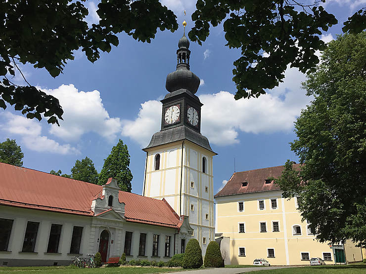 Au château de Žďár nad Sázavou