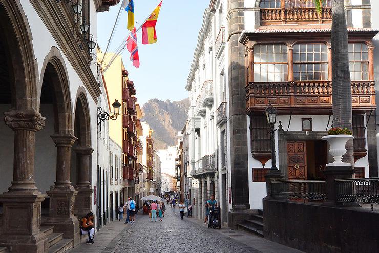Santa Cruz, capitale tranquille de La Palma