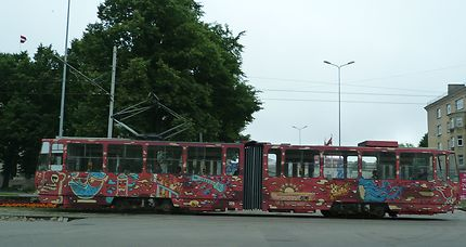 Bus à Liepaga