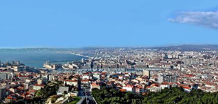 Marseille vu de ND de la Garde