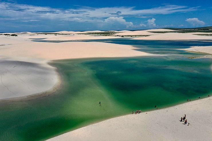 Dunes de Jericoacoara, Brésil