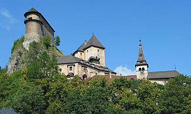 Oravský hrad (Château d'Oravský Podzámok)