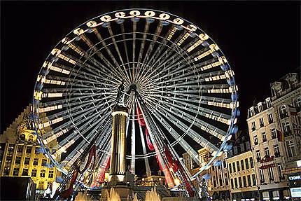 Grande roue, Grand'Place, Lille
