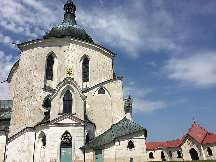 L'église Saint-Jean-de-Népomucène à Žďár nad Sázavou