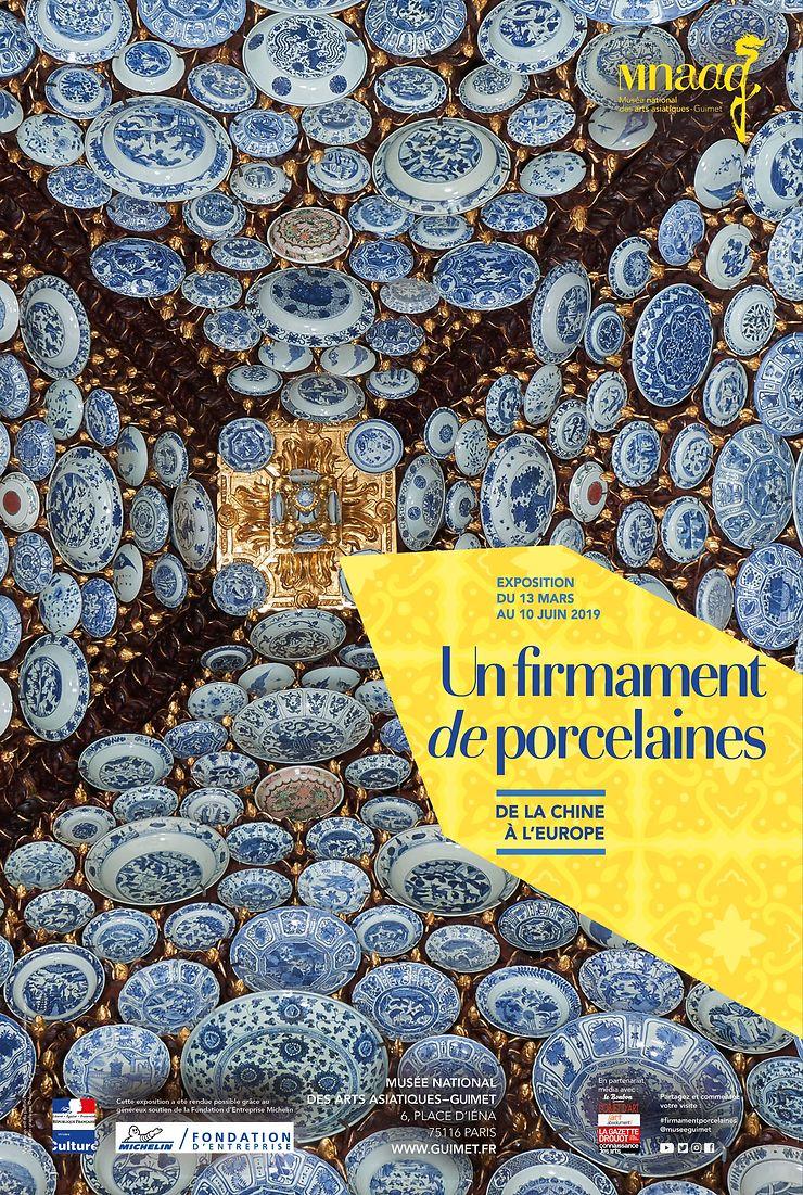 « Un firmament de porcelaines, de la Chine à l'Europe » au musée Guimet à Paris